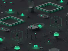 Isometric loop by Alexander Gavrilov on Dribbble Web Design Websites, Web Design Icon, Graphic Design, Fluent Design, Web Company, Isometric Drawing, Pavilion Design, Splash Photography, 3d Logo