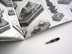 Tiny Pencil zine (work by Jamie Mills)