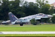 Sukhoi Su-35S Flanker-E at Le Bourget