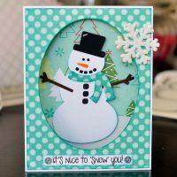Snowman Club Die Set / Stephanie Barnard