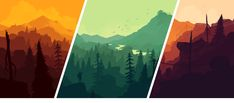 Firewatch Launch WallpaperWhen we redid the Firewatch website to prepare for the game's launch, Olly painted a great new piece of art as the centerpiece of the design.Naturally you'd expect a desktop wallpaper to come out of it, but did you expect three? No you did not, but here they are:Sunset Yellow21:9 Desktop (3440x1400 - Also great for mobile devices with multi-screen parallax backgrounds)16:10 Desktop (2560x1600, 1920x1200, etc)16:9 Desktop (2560x1440, 1920x1080, etc)5:4 Desktop…