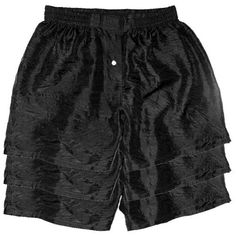 "Set of Three Silk Boxers by Royal Silk - BLACK - XX-LARGE 39""-40"" these are my #1 choice!"