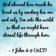 #DailyScripture #aFathersLove
