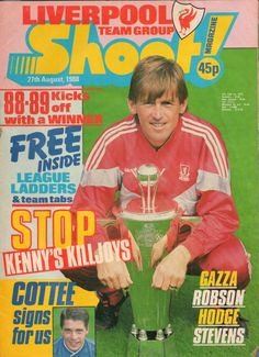 The history of Liverpool FC in pictures Old Football Boots, Kenny Dalglish, English Football League, Blackburn Rovers, Football Stickers, Celtic Fc, Retro Football, Liverpool Football Club, My Youth
