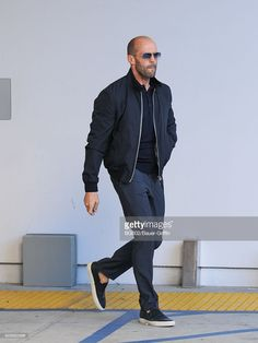 Jason Statham is seen on December 08, 2016 in Los Angeles, California.