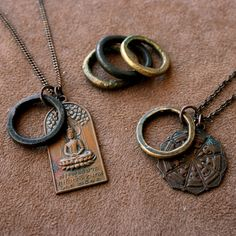 Buddha Necklace Design your Own Made to Order by losttribedesigns