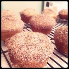 Cinnamon and Brown Sugar Breakfast Muffins