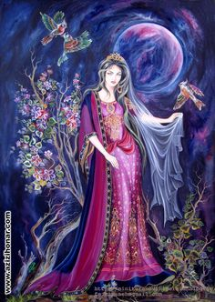 فاطمه کمانه » آثار هنرمندان ایران - عزیزی هنر