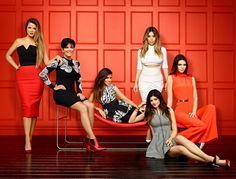 Keeping Up With the Kardashians Season 9 Promo Photo: See the Kim in a Cutout Dress And the Other Curvaceous Ladies!