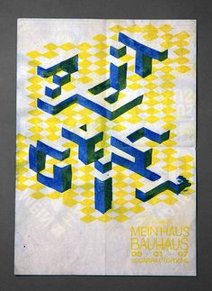 Job Wouters (Letman) and Roel Wouters, Lettering for Zeitgeist, risograph… Design Poster, Graphic Design, Design Typography, Club Flyers, Illustrations And Posters, Bauhaus, Art Quotes, Logos, Uni