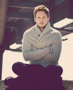 Patrick J. Adams - goodness I adore him in Suits