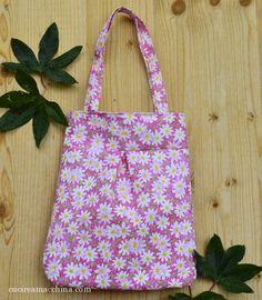 Impara a foderare una borsa in stoffa - Cucire a Macchina Country Crafts, Fabric Ribbon, Reusable Tote Bags, Stitch, Sewing, Runner, Estate, Soho, Costa