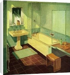 1000 images about 1956 bathroom on pinterest 1950s for 1950 bathroom ideas