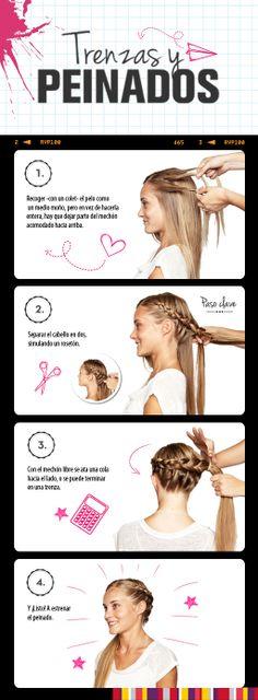 Una trenza con todo el pelo ¡Aquí te enseñamos!