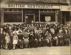 British Restaurants in wartime