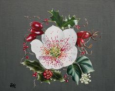 Hellebore and Rose Hip
