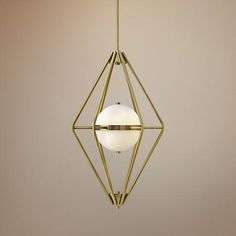 "Spectra 18"" Wide Retro Brass Chandelier - Entry Fixture? By front door?"
