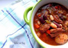 Taste Eat: Lekki gulasz wiosenny po chłopsku Pot Roast, Chili, Recipies, Soup, Beef, Curry, Ethnic Recipes, Fit, Carne Asada