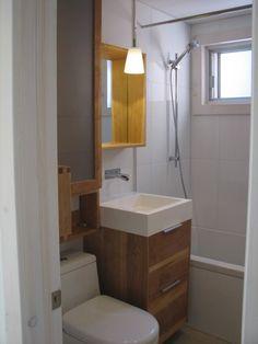 1000 id es sur le th me petite salle de bain compl te sur pinterest jacuzzi - Salle de bain minuscule ...