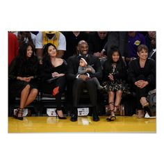 Golden State Warriors v Los Angeles Lakers Kobe Bryant And Wife, Kobe Bryant Daughters, Kobe Bryant Family, Lakers Kobe Bryant, Kobe Bryant Sisters, Kobe Bryant Kids, Famous Celebrity Couples, Celebrity Maternity Style, Celebrity Singers