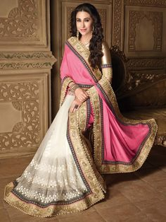 Get ready to reveal your true beauty.  Item code: SDH10120 http://www.bharatplaza.com/new-arrivals/sarees.html