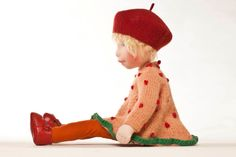 Bambola di AC su ordinazione di AldegondeCeelen su Etsy