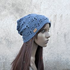 Chill Out Boho Hat Crochet Pattern PDF file от CrazySheepPatterns Hipster Hat, Boho Hat, Cotton Hat, Old Jeans, Crochet Baby Hats, Cool Hats, Crochet Patterns, Chill, Trending Outfits