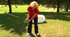 The wrist hinge is key to a powerful golf swing, but many of us do it the wrong way. PGA Professional Kathy Swanson explains the difference.
