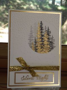 handmade Christmas card … luv the window opening with tall pines stamped multi… – Christmas DIY Holiday Cards Homemade Christmas Cards, Christmas Cards To Make, Xmas Cards, Homemade Cards, Holiday Cards, Stamped Christmas Cards, Stampinup Christmas Cards, Stampin Up Christmas 2018, Christmas Holiday