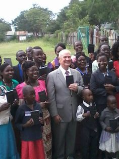 Brother Stephen Lett at the Luo Regional Convention after receiving a new release of the bible in the Luo language from Matthew to Revelation. @biblespeaks (1 of 2)