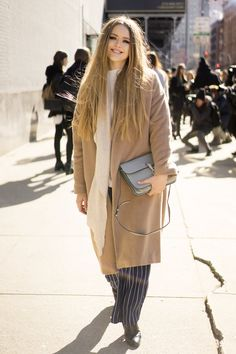 Pin for Later: See All the Best Street Style From NYFW Last Season NYFW Day Two Kristina Bazan