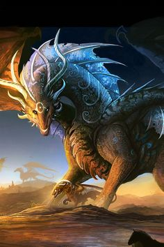 Dragon clans are a lot like elephant herds- they travel together always, and defend the others from danger, and sorrow for others when they die