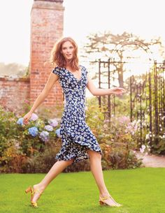 Seville Dress WH615 Smart Day Dresses at Boden