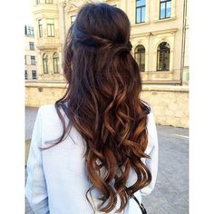pretty day-to-night hairstyle