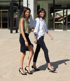 Emmanuelle Alt et Geraldine Saglio