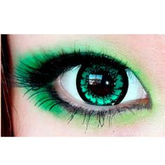 eos candy magic king size green colored contacts circle lenses - Coloration Eos
