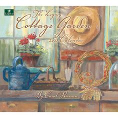 Cottage Garden Mini Wall Calendar: This 2013 Mini Wall Calendar features the beautiful floral watercolors of artist Carol Rowan. This 12-month calendar is printed on high-quality, linen-embossed paper that has a distinctive, luxurious feel to it, and comes in a protective envelope.  $5.99  http://www.calendars.com/Assorted-Folk-Art/Cottage-Garden-2013-Mini-Wall-Calendar/prod201300003864/?categoryId=cat00033=cat00033#