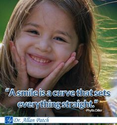#a smile is a curve