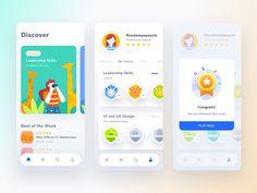 Web Design Mobile, App Ui Design, Game Design, Interface Design, Flat Design, User Interface, Design Design, Graphic Design, Design Responsive