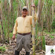 When you choose #FairTrade Certified #sugar, you're supporting sugar farmers like Gerardo build a better future for their families.