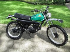 1974- Honda MR175 Elsinore. My first motorcycle. I had as much fun taking it apart as I did riding it.