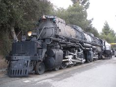 """The largest steam locomotive in the world...the Union Pacific """"Big Boy"""""""