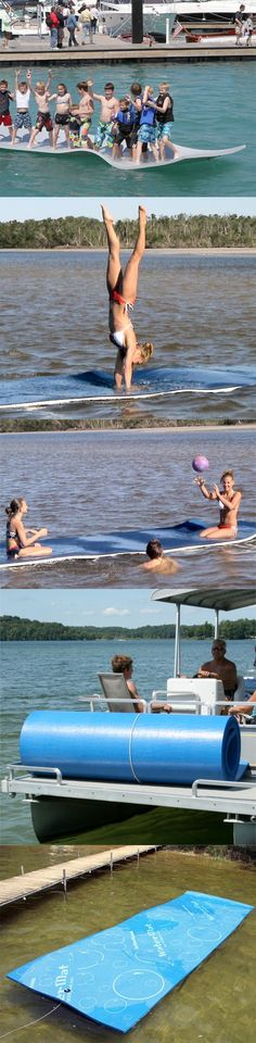 This is what I want for this summer: Water Mat