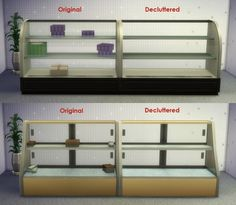 Updated Decluttered Food Displays by IgnorantBliss at Mod The Sims via Sims 4 Updates