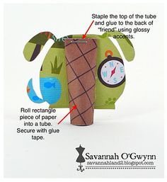 savannahland 2: Pencil Topper #Tutorial #Favors