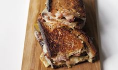 Quick simpke midweek dinner.Sometimes you just want a toasted sandwich, hot and sizzling from the pan, says Nigel Slater