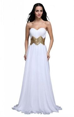 Joydress Women's Sequin A-line Sweetheart Floor-length « Dress Adds Everyday