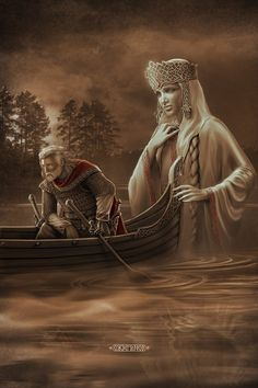 """Slavic mythology by Igor Ozhiganov. Goddess Berehynia. Berehynia is a female spirit in Slavic mythology, which recently came to be regarded as a """"Slavic goddess"""" with a function of """"hearth mother, protectoress of the home"""""""