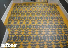 116 Best Stenciled Floors Images Stenciled Floor