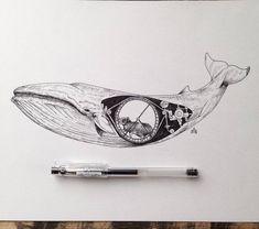 http://www.fubiz.net/en/2016/03/30/poetic-surreal-black-ink-pen-illustrations/